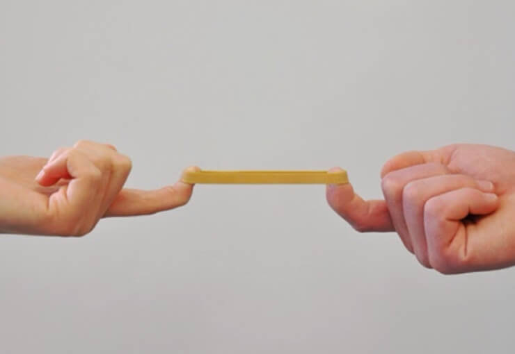 the elastic band theory