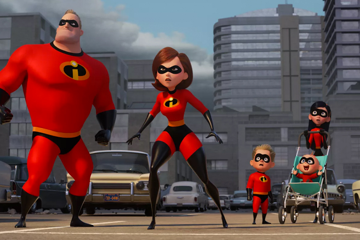 the incredibles 2 the movie