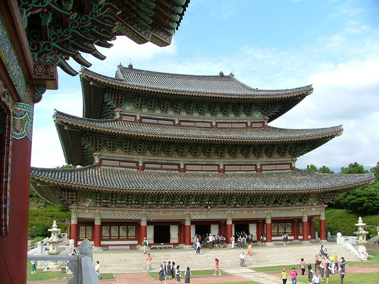 south korea temples