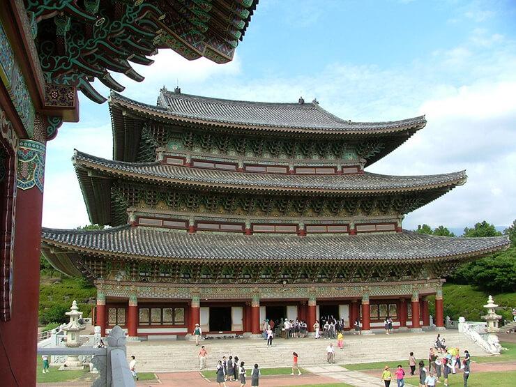 south korea temples