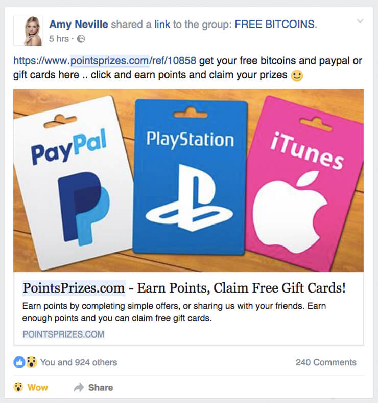 How To Get Referral Points With Facebook