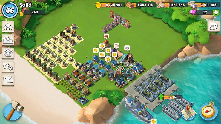 boom beach strategy