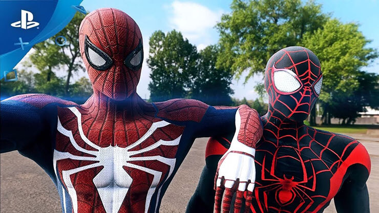 spiderman ps4 costumes