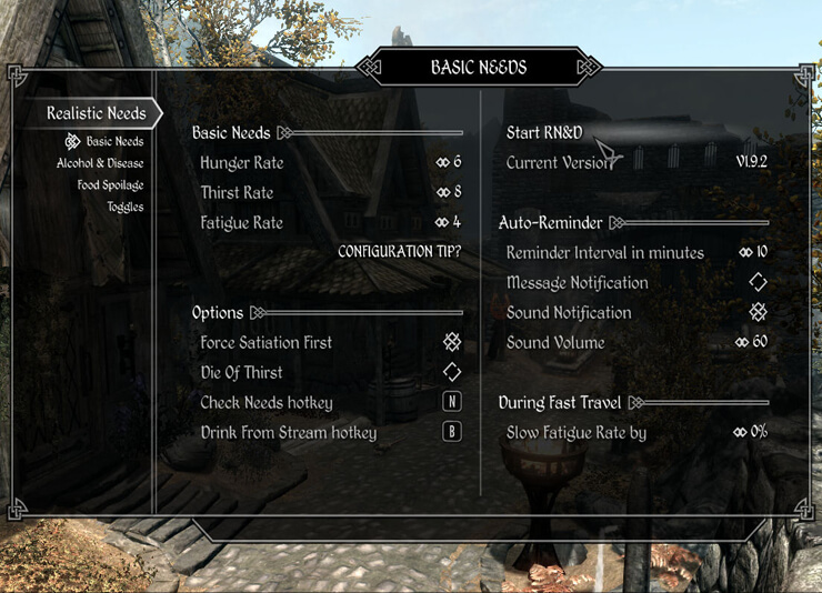 8 Hardcore Skyrim Mods Worth Trying