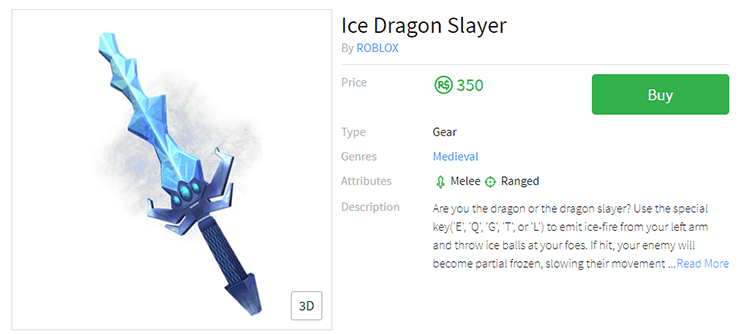 ice dragon slayer sword