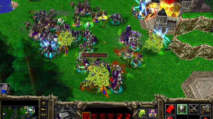 warcraft rts games