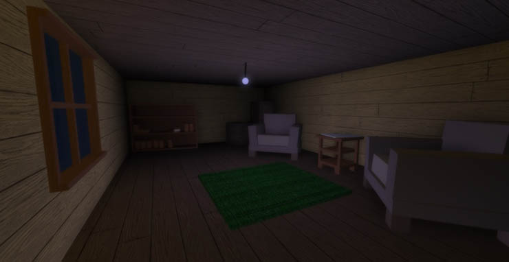 alone in a dark house roblox