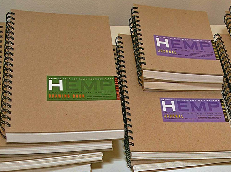 hemp plant alternative paper