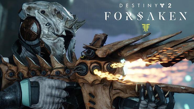 destiny 2 forsaken new weapons