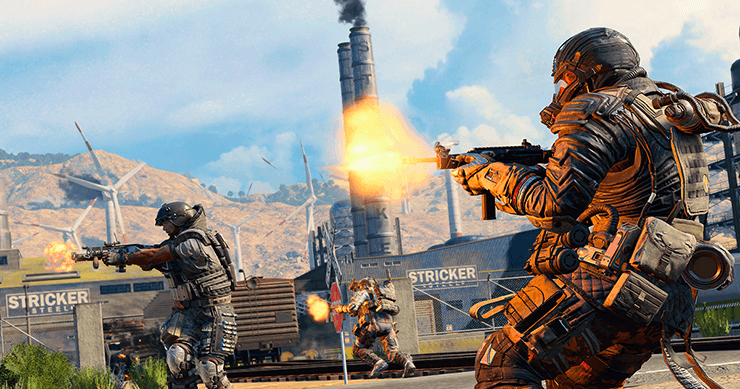 CoD Blackout game