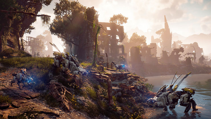 world of horizon zero dawn