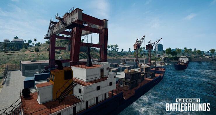 docks sanhok pubg