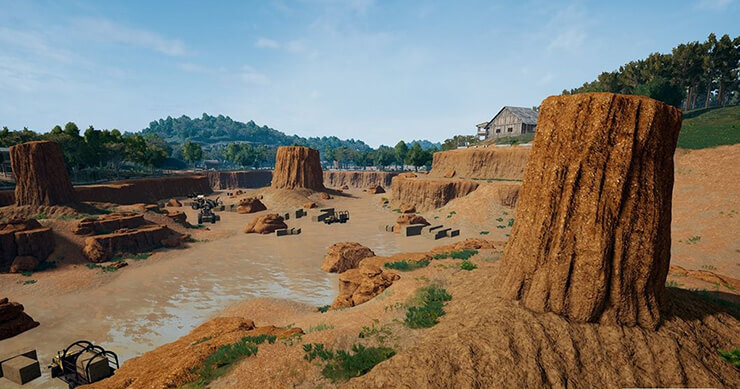 places pubg sanhok
