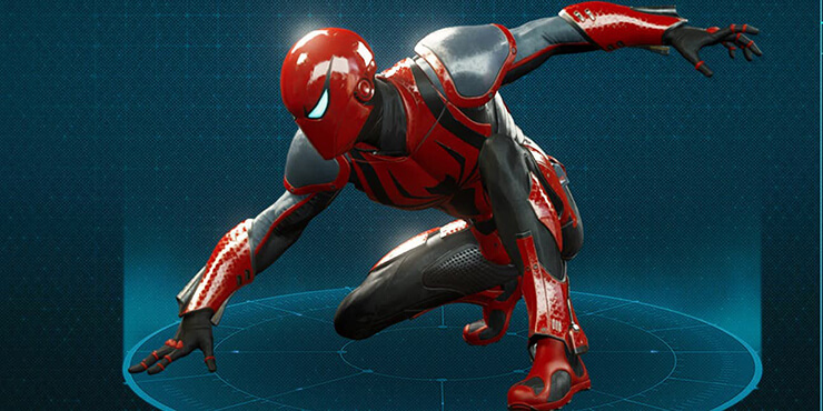 spiderman mk III suit
