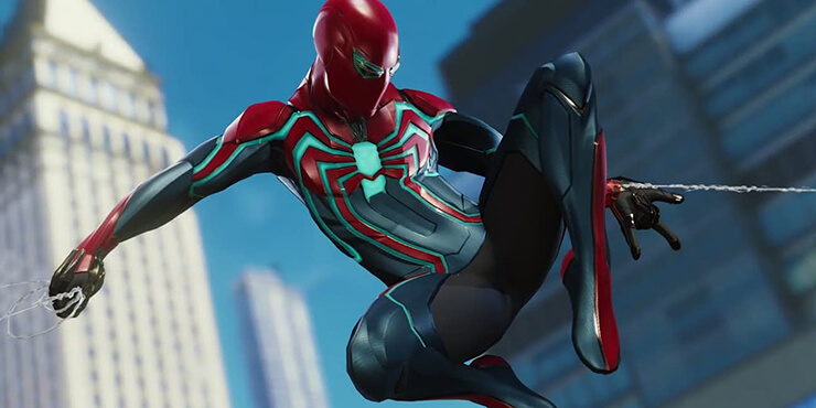 velocity suit spiderman