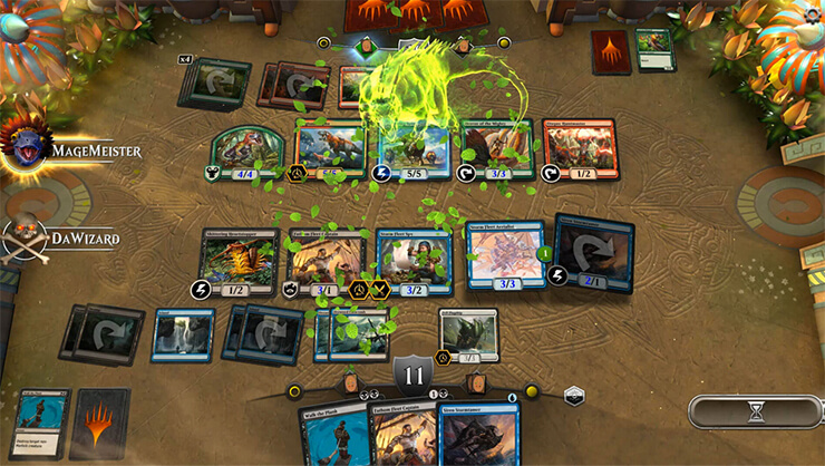gameplay magic the Gathering
