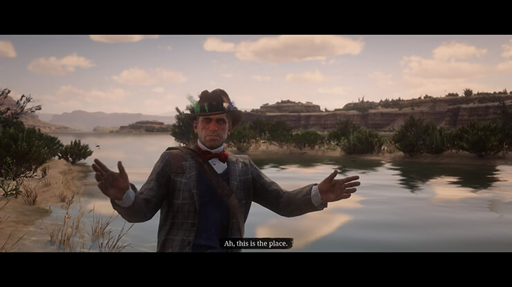 fisher of fish stranger mission red dead redemption 2