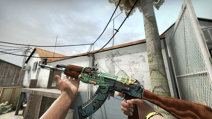 factory new ak fire serpent cs go