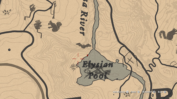 legendary perch location in red dead redemption 2