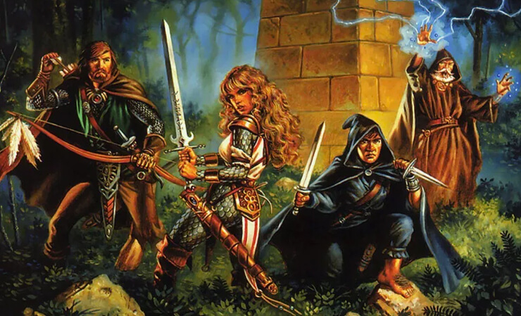 characters dungeons and dragons