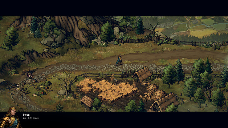 nilfgaardian thronebreaker game