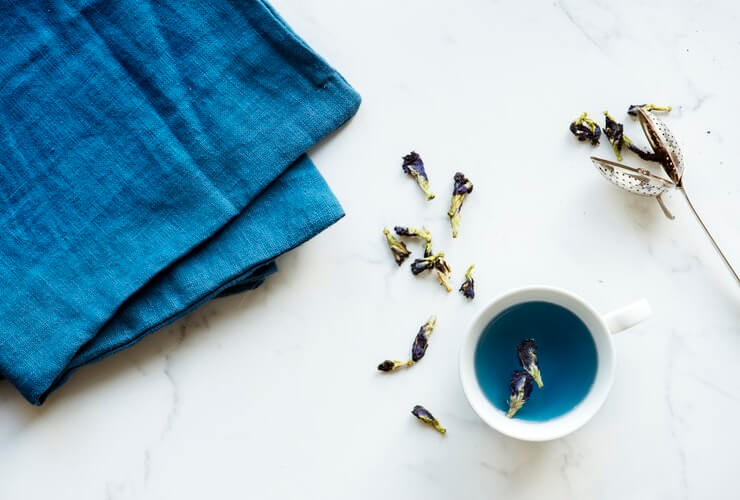 benefits of blue tea