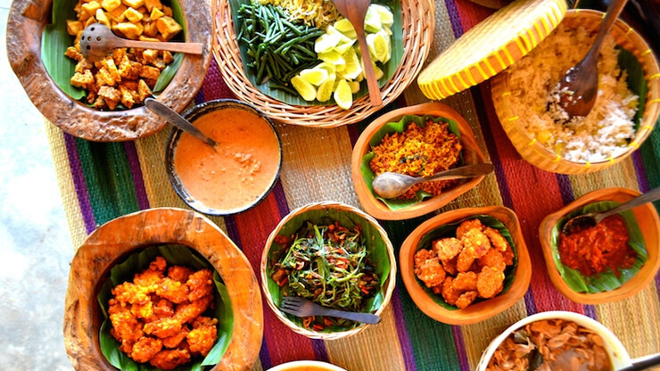 bali guide veggie food