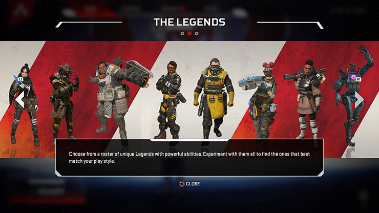 apex legens hero shooter game