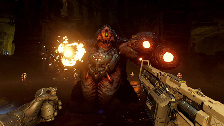 playstation vr doom