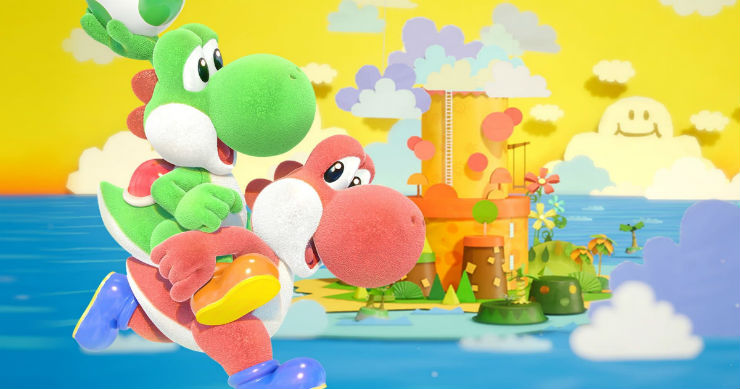 yoshis crafted world game