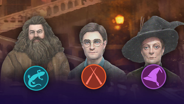harry potter wizards unite professors