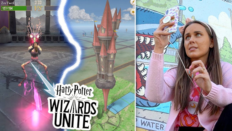 harry potter wizards unite fortress