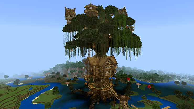 giant tree house