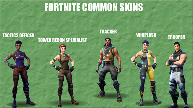 Here S A Look At Every Single Fortnite Skin -