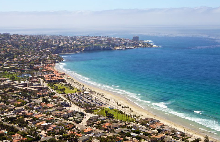 la jolla shores beach