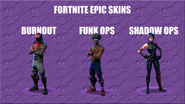 fortnite epic skins