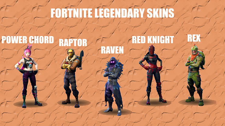 fortnite legendary skins