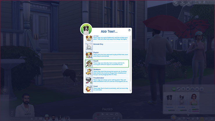 traits for sims