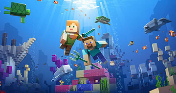 Top New Features In The Minecraft Underwater Update></a><a href=