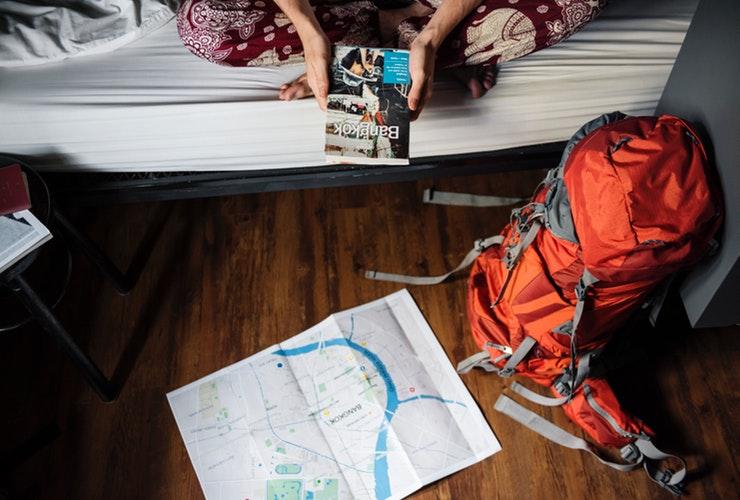 book a hostel