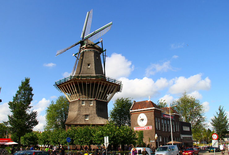 windmills and beer tasting amsterdam