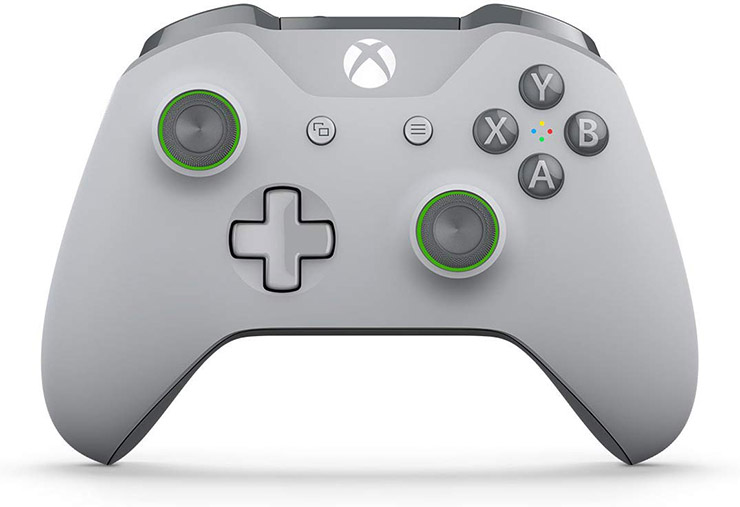 gray greeen controller