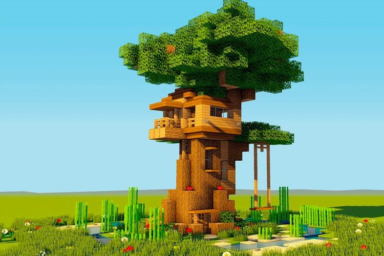 treehouse minecraft