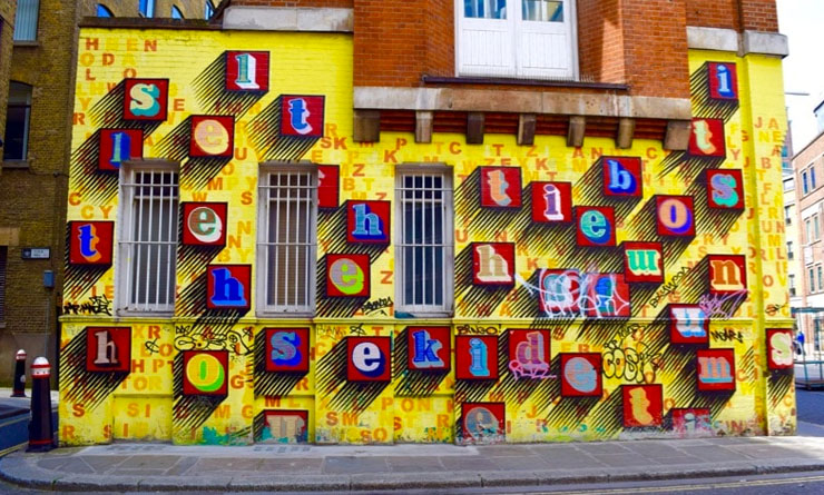 street art tour london
