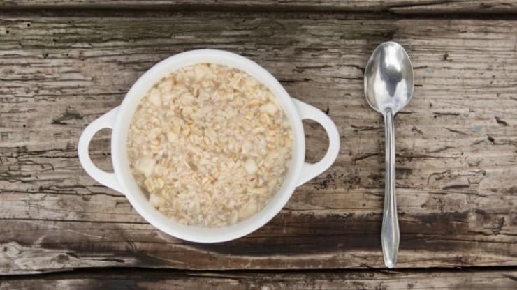 plain oatmeal