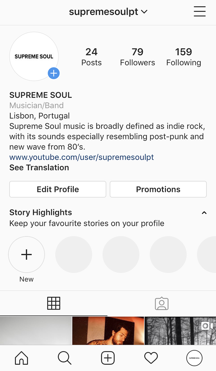 create a instagram profile supreme soul