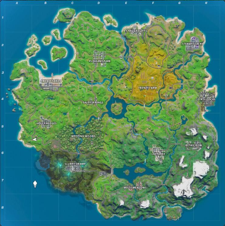new map fortnite 2