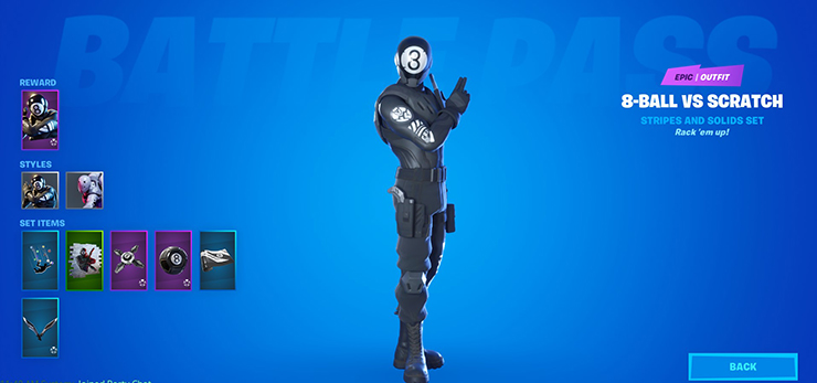 8 ball fortnite skin