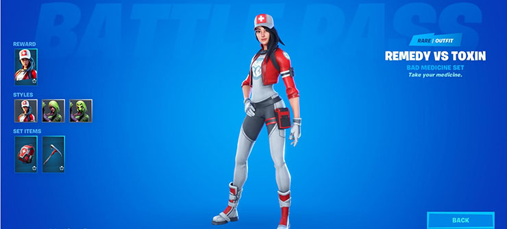 remedy fortnite skin
