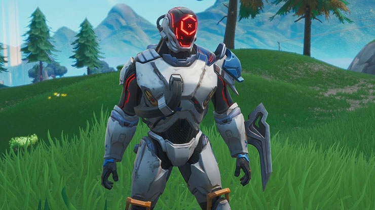 the scientist fortnite skin